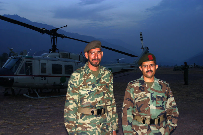 Captain Humayun was extremely helpful and even managed to feed us dinner while we were running around.