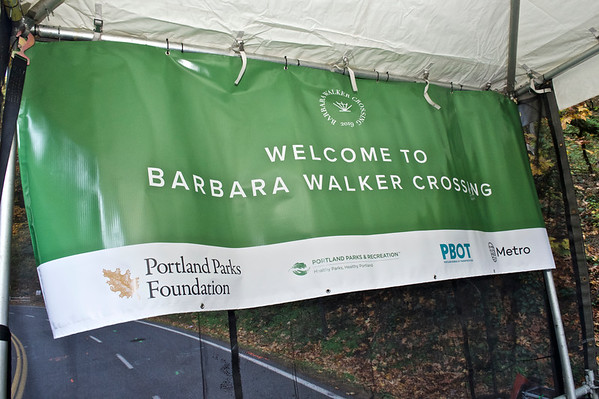 Barbara Walker Bridge Opening Ceremony