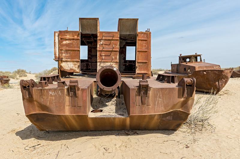 Rusting Shipwrecks, Moynaq