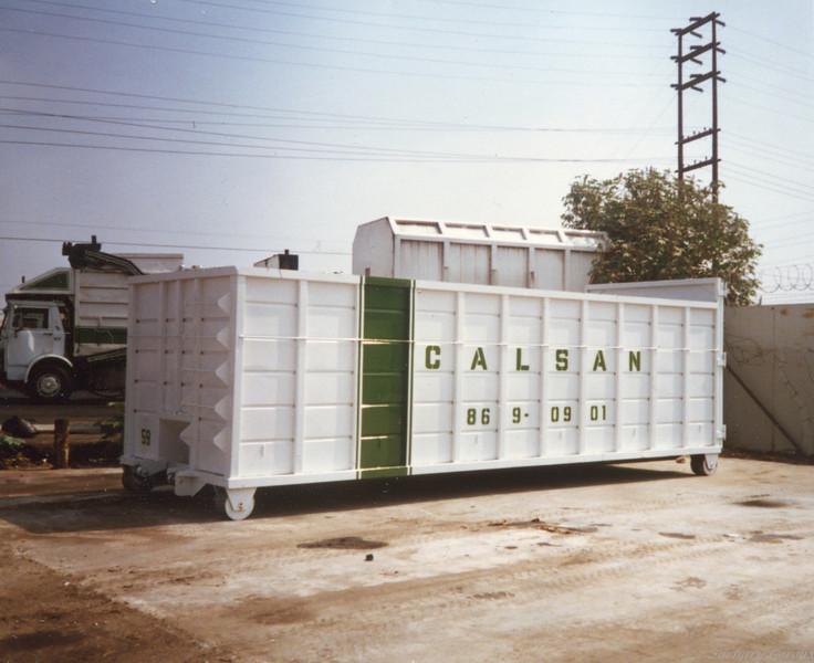 Cal San 40yd Roll Off Box