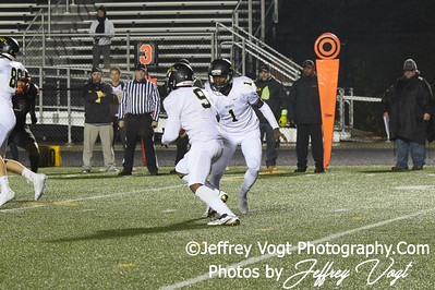 11-10-2018 Quince Orchard HS vs Richard Montgomery HS Semi Regional Playoffs Varsity Football at Gaithersburg HS, Photos by Jeffrey Vogt Photography