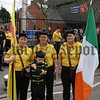 Members of the St Patricks Flute Band Kilkeel