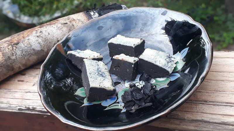charcoal chocolate