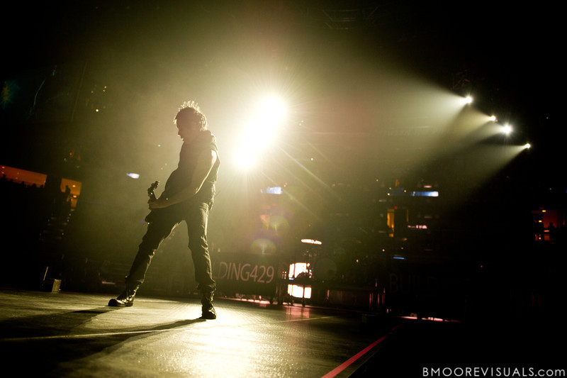 Jesse Garcia of Building 429 performs on January 14, 2012 during Winter Jam at Tampa Bay Times Forum in Tampa, Florida
