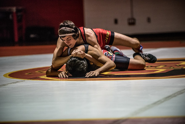 Orting Wrestling Vs Steilacoom 2016