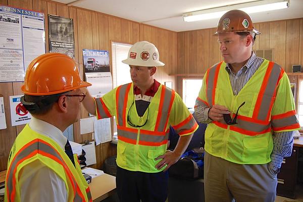 Congressman Cohen Tours North Plant
