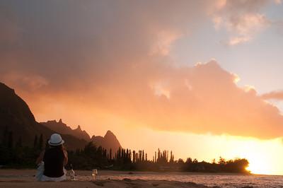 2010: Honeymoon in Kauai