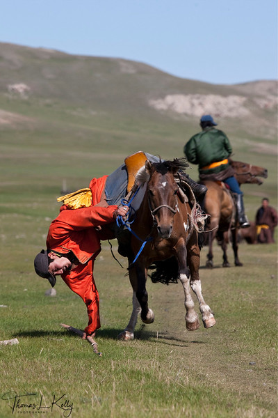 Local naadam in Bunkhan. Mongolia.