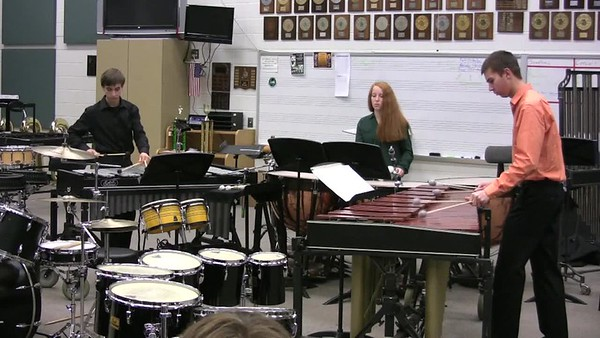 Fall Percussion Concert