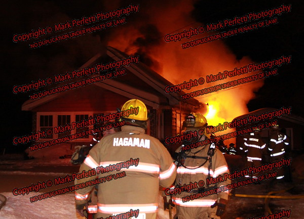 Hagaman Structure Fire 1-30-2009