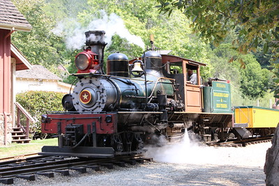 Roaring Camp and Big Trees Narrow Gauge Railroad