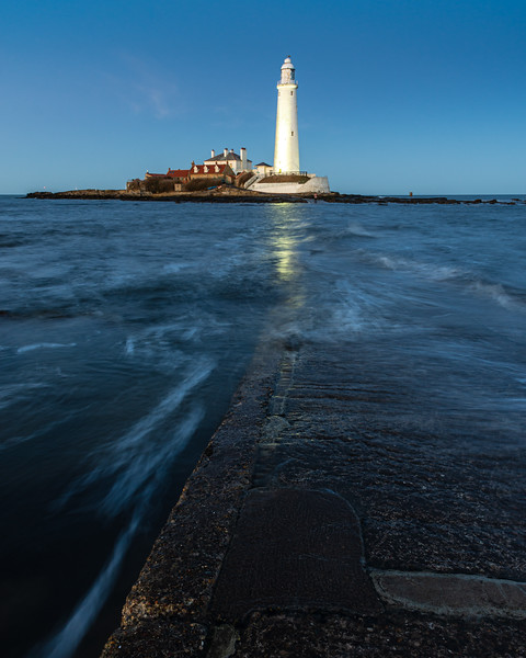 St Mary's Island lighthouse