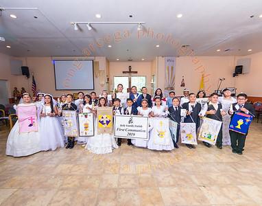 2019 1st Holy Communion  Group Photo : 1PM