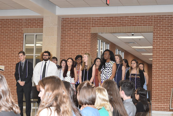 National Technical Honor Society Induction Ceremony (April 2016)
