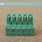 SKU: AE-BLOCK/350/5, Green Connector 3.5mm Pitch 5 Way Pluggable Terminal Block, 5Pin PCB Cable Plug in Screw