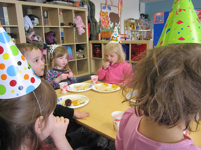 Sarahs 3. Geburtstagsparty