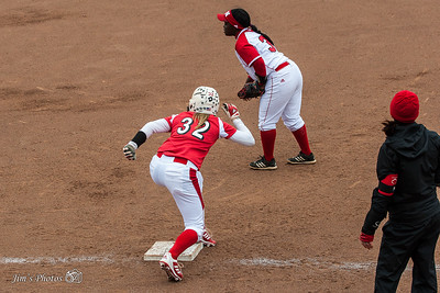 UW Sports - Women's Softball Game 1 - April 25, 2015