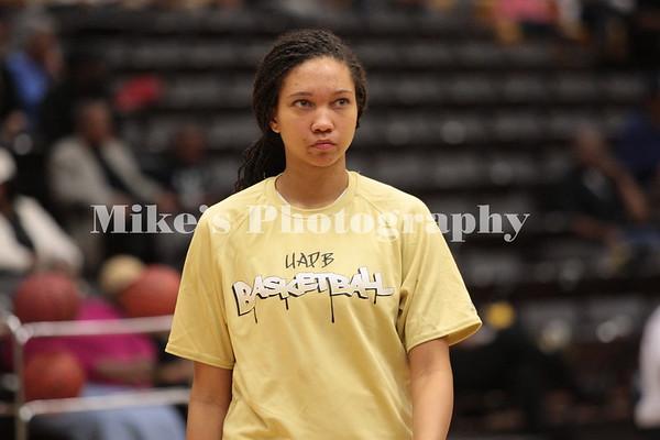 UAPB Women of Basketball 2013-2014