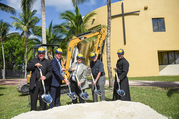 Our Lady of Belen Chapel Groundbreaking