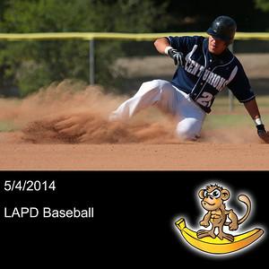 2014-05-04 LAPD Baseball