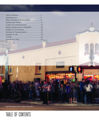 2011 State of Downtown DVI Report