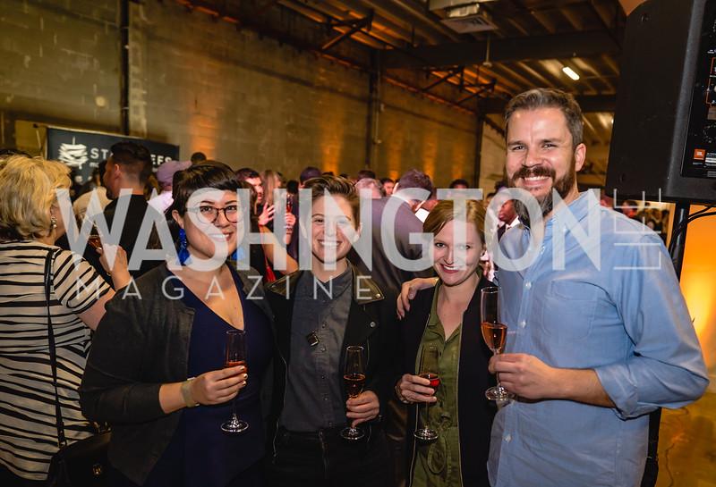 Angela Ferrara Cassie Ash Britt Calder Evan Howe Candid. 2018 StarChefs Tasting Gala & Awards Ceremony. December 11, 2018. Elyse Cosgrove Photography.ARW