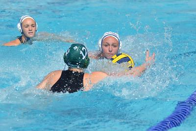 CIF SS Girls Water Polo D5 Finals 2012 - Temescal Canyon High School vs Bonita 2/25/12. Final score 12 to 11. TCHS vs BHS. Photos by Allen Lorentzen.