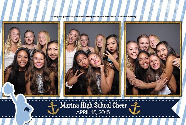 Marina High School Cheer