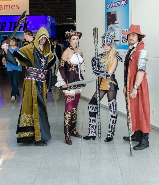 Cosplayers @ Gamescom 2012