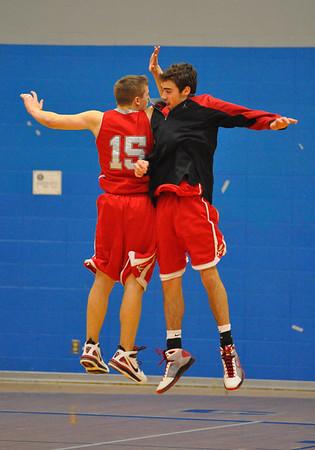 SA vs Woodburn Playoff Boys Basketball