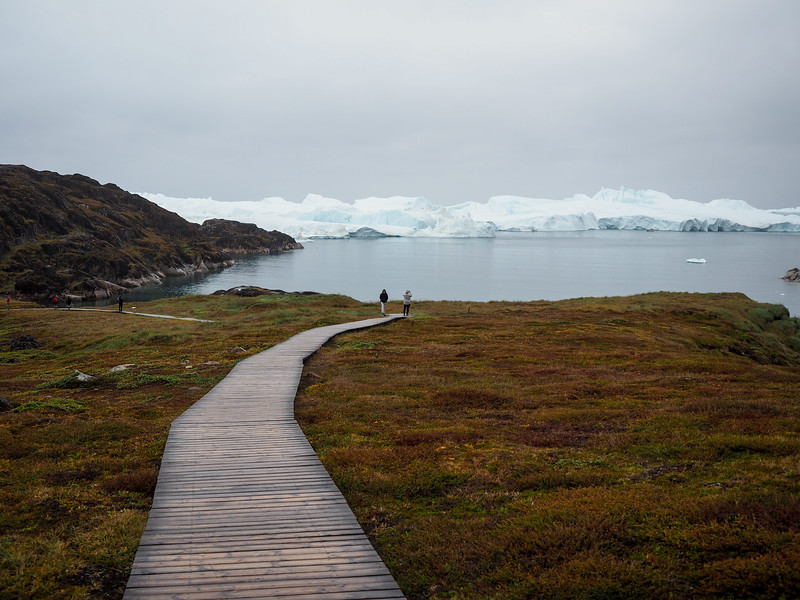 Boardwalk to the Ilulissat Icefjord