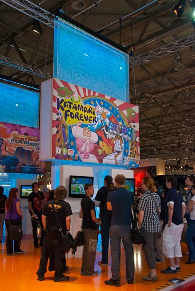 Katamari Forever at GamesCom