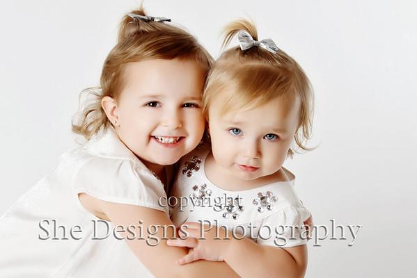 Lucy and Ella Dec. 2011