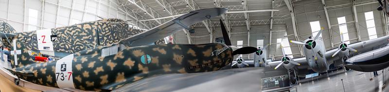 Badar Hangar WW2