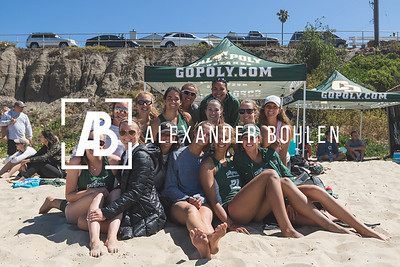 2016 Cal Poly Beach Volleyball at Pismo