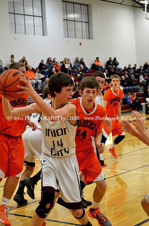 Homer vs Union City JV Boys Basketball Game 2-11-2014