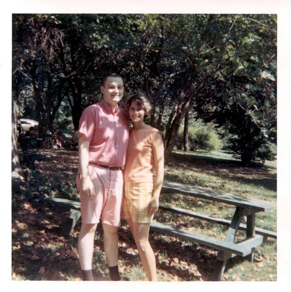 Burt was wearing pink before it was okay… :-)