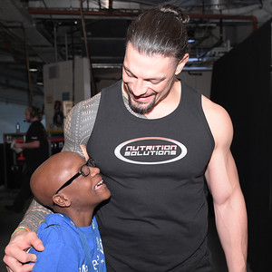 Roman Reigns - Digitals / Roman grants wishes for Sean and Justin at MSG