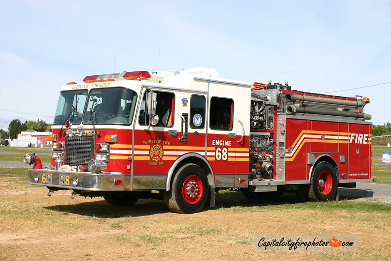 Fairview Township Engine 68: 1995 Spartan/Darley 2000/750