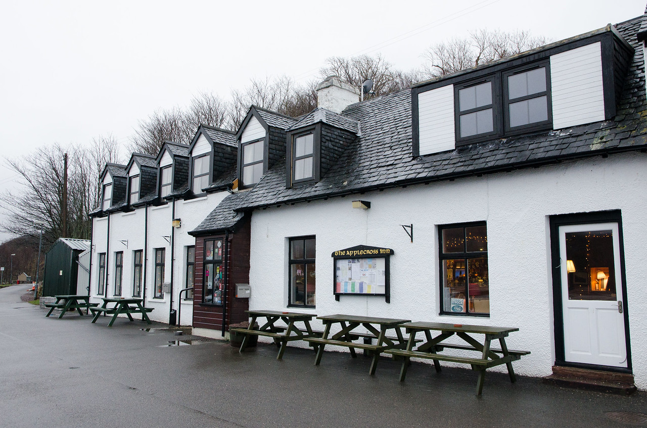 NC500 - Applecross - Applecross Inn