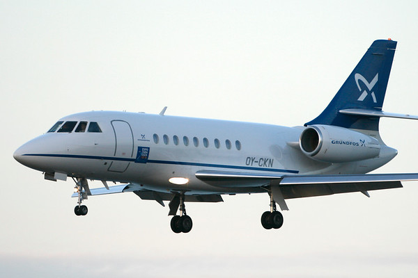 OY-CKN - Dassault Falcon 2000