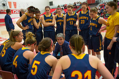 Women's Basketball - Queen's at York 20150117