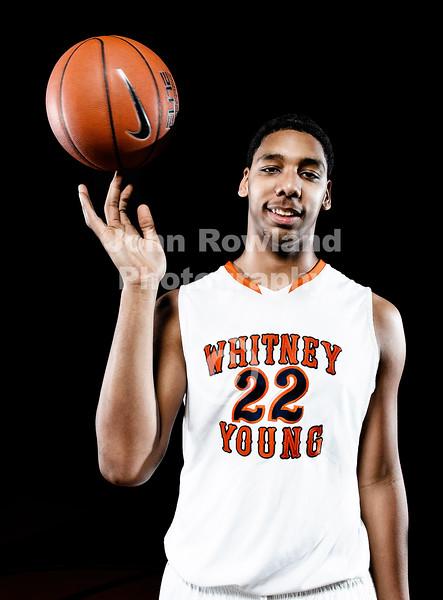 Whitney Young Basketball Portraits