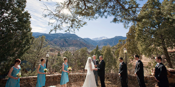 Wedding album: Jessica and Dave in Manitou Springs
