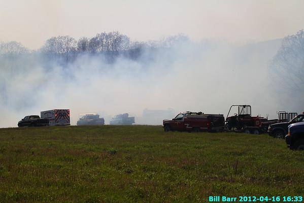 Nescopeck Twp Wildfire 4/16/12