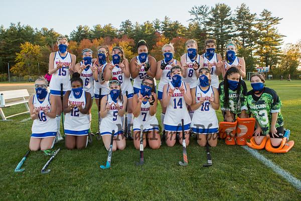 2020-10-14 WHS Girls Field Hockey vs Timberlane