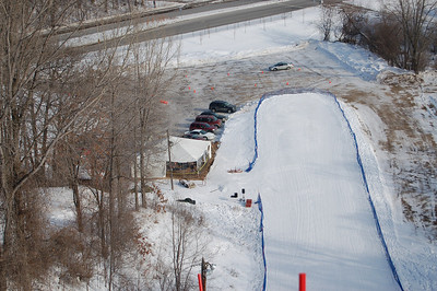 "Minneapolis ""Big Hill"" Ski Jumping Tournament:  January 28, 2009"