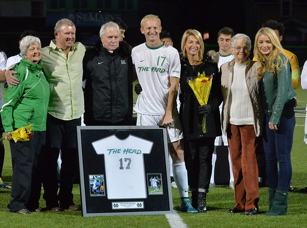 Soccer -Men's v. Charlotte -November 4, 2016 -Marilyn-Testerman-Haye