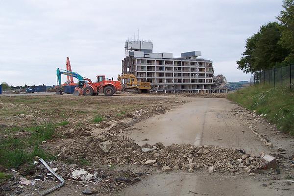 Princess Margarets Hospital Demolition 2005