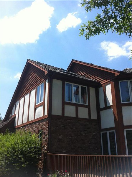 Cedar Roofing Project on Existing Home